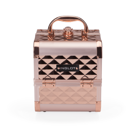 Makeup Case Diamond Mini Rose Gold (MB152M Big Diamond K107 4)