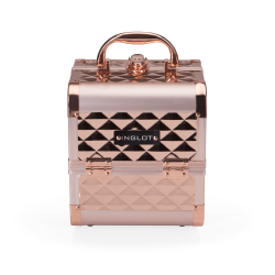 icon Makeup Case Diamond Mini Rose Gold (MB152M Big Diamond K107 4)