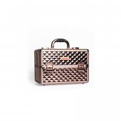 Makeup Case Diamond Rose Gold MB153A-M (K107 4)