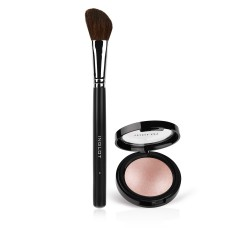 Medium Sparkler Face Eyes Body Highlighter 33, Makeup Brush 3P Set
