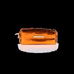 Cosmetic Bag Mirror Orange icon