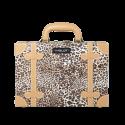 Makeup Case Leopard Leather Pattern Mini (KC-AC11)