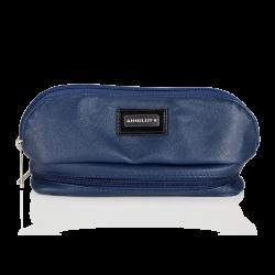 Cosmetic Bag Dark Blue with Mirror (R23388)