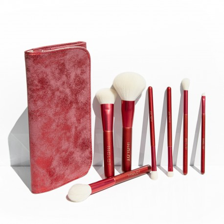 Brush Set (7 PCS) Marble Red