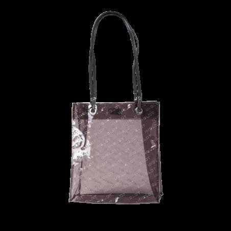 Brown Transparent Shopping Bag