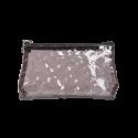 Brown Transparent Makeup Bag (R23973C)