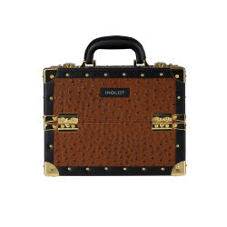 Makeup Case Ostrich Leather Pattern (KC-MS01S)