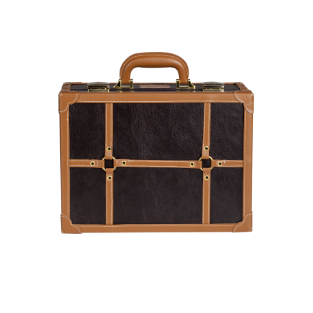 Mini Makeup Suitcase Brown (KC-007M)