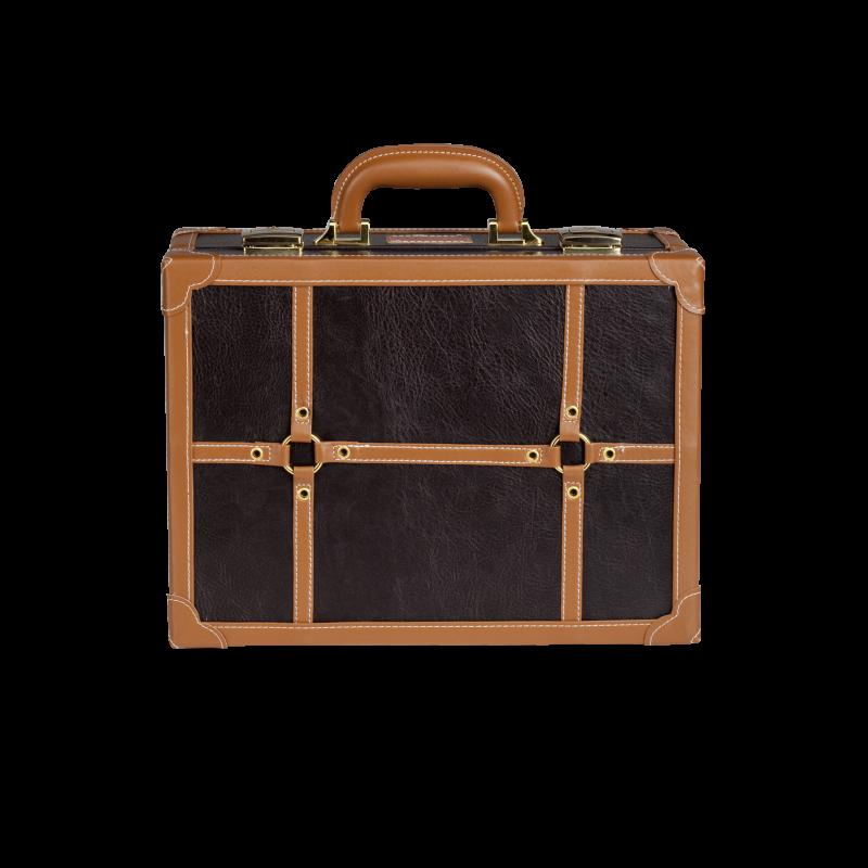 Mini Makeup Suitcase Brown Kc 007m