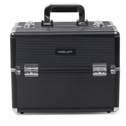 Makeup Case Black Stripe (KC-156-BS)