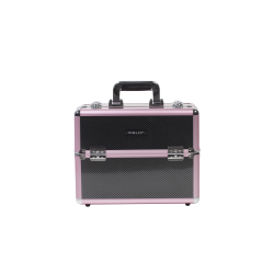Makeup Case Carbon Fiber Pattern (KC-156-Z)