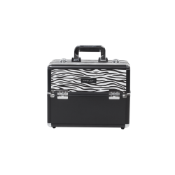 Makeup Case Zebra Pattern (KC-156-ZB)