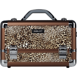 Makeup Case Leopard Leather Pattern (KC-M34)