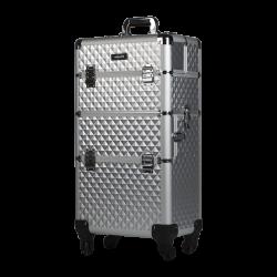 Makeup Case Silver Diamond (KC-TR003)