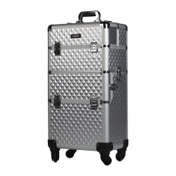 Makeup Case Silver Diamond (KC-TR003) icon