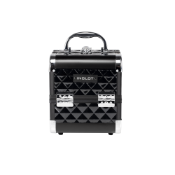 icon Makeup Case Diamond Mini Black