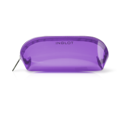 Cosmetic Bag Transparent Purple icon