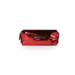 Cosmetic Bag Mirror Burgundy