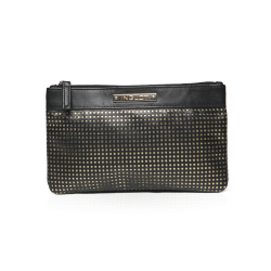 Cosmetic Bag Black & Gold