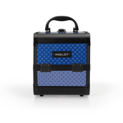 Makeup Case Mini Holographic Drops Blue (MB152M Blue Shade)