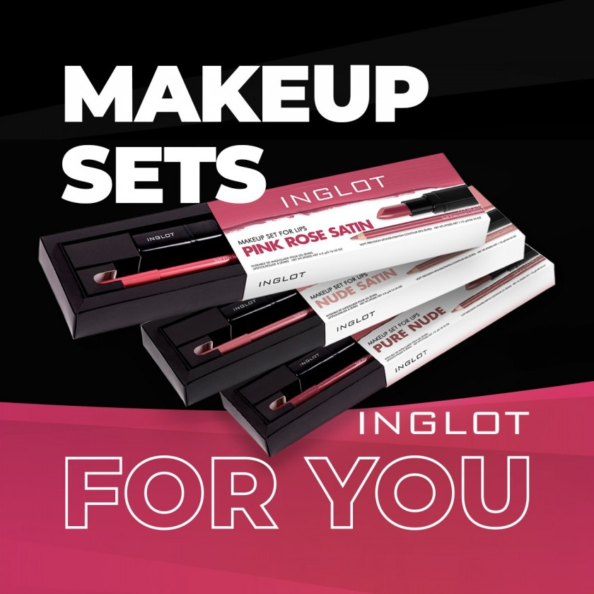 FALL IN LOVE WITH UNIQUE MAKEUP AND SKINCARE SETS!