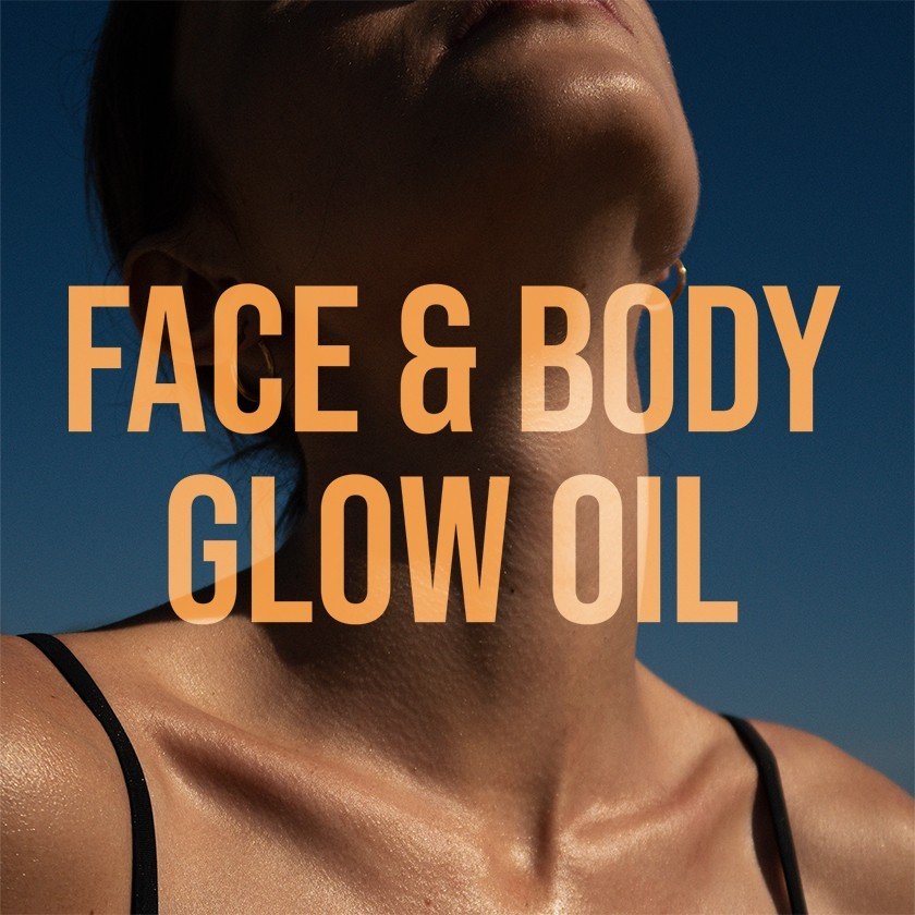 Say hello to summer with Face & Body Glow Oil!